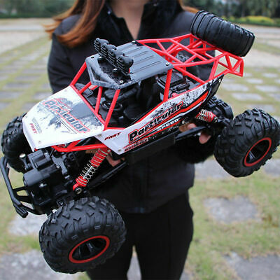 1/12 Scale RC Car 2.4G 4WD Fast Speed Remote Control Off Road Monster Truck Toy • 32.99£