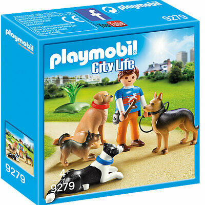 PLAYMOBIL 9279 City Life Dog Trainer With Students • 11.85£