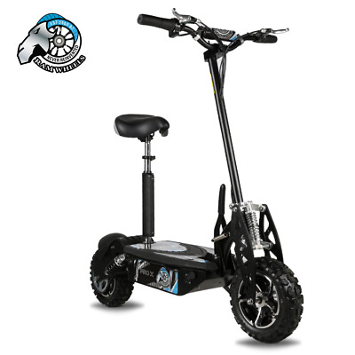 Pit Bike Electric Scooter 1600W 48V 6.5 Inch Alloys Light Off Road. • 539.95£