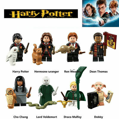 8 Pcs Harry Potter Custom Mini Figures Voldemort, Hermoine Dobby Block Lego Fit  • 8.99£