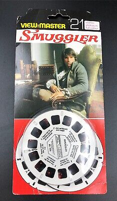 "Rare  Smuggler"" Stereo 21 Pack Sawyers Viewmaster Reels 3D • 18.99£"