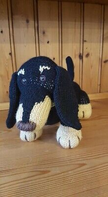 Hand Knitted Dinky The Dachshund Dog  • 27£