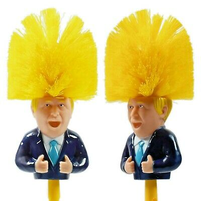 Boris Johnson Toilet Brush,Satire,Novelty Gift, Secret Santa Brush SEE VIDEO • 4.99£