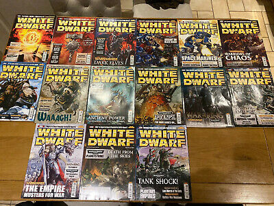 Games Workshop White Dwarf Collection Bundle X15 Issues Between 342 And 356 • 29.99£