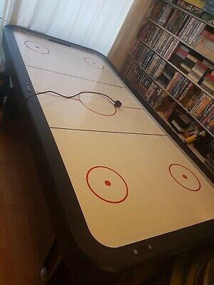 7ft Twister Full Size Electric Air Hockey Games Table 4 Player Carbon Finish • 220£