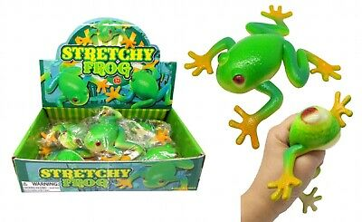 Stretchy 14 Cm Frog Animal Squishy Model Spoof Stress Relief Squeeze ADHD • 5.75£