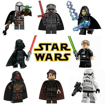 Star Wars CUSTOM Lego Mini Figures Building Jedi Droids Vader Yoda Skywalker UK • 2.99£