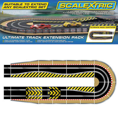 SCALEXTRIC Sport Track C8514 Extension Pack Kit 4 • 55.99£