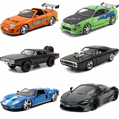 Jada Hollywood Rides Fast & Furious 1:24 Diecast Model Car Collection • 23.95£