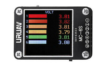 1-6S Lipo Battery Voltage Checker Receiver Signal Tester UK STOCK • 14.99£