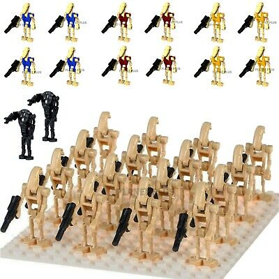Star Wars CUSTOM Battle Droids Army Lego Mini Figures Building Droid Clones • 13.29£
