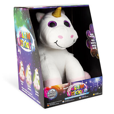 My First Light Up Colours Plush Unicorn Cuddly Toy Super Soft Glow Perfect Gift* • 8.50£