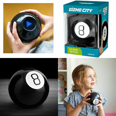 Retro Magic Mystic 8 Ball Decision Making Fortune Telling Cool Toy Gift Eight* • 6.99£