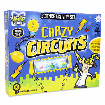 Weird Science Set Crazy Circuits Electricity Laboratory Equipment Experiment Kit • 6.99£