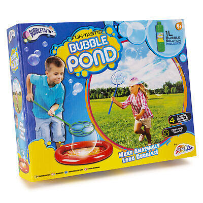 Bubble Pond Large Bubbles Wands Fun-Tastic Kids Fun Summer Water Outdoor Toy* • 6.79£