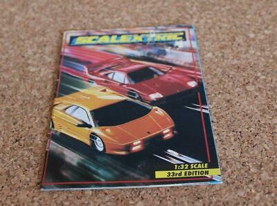 Scalextric Catalogue 33rd Edition 1992 Vg Condition • 4£