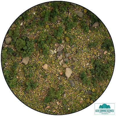 Lukes Aps Base Ready Scrublands For Model Railway Architecture Warhammer Scenery • 5.50£