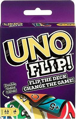 Mattel Games GDR44 Flip Card Game, Multi Colored Exciting New Twists From Uno • 3.49£