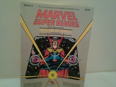 Marvel Super Heros Realms Of Magic Role Playing Guide Vintage  • 35£