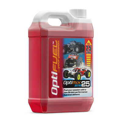 Optimix Rtr 25% Nitro Fuel 2.5 Litre Rc Car Fuel • 24.66£