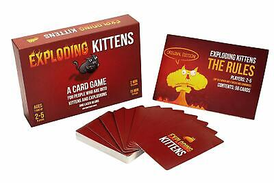 Exploding Kittens Cards Game Original Edition Party Family Game. • 11.49£