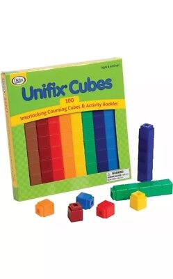 Unifix Cubes Pack Of 100 Numberblocks PROMOTIONAL PRICE!!! • 14.99£