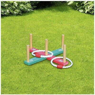 Giant Quoits Classic Kids Family Garden Indoor Outdoor Party Fun Playing Games • 11.99£
