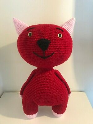 Crochet Cat, Kitten Fedor, Amigurumi Cat, Handmade Soft Toy • 34.99£