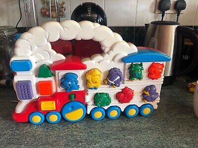 Vintage Chicco Animal Train  Electronic  Sounds Toy From 1994 • 10£