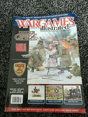 WARGAMES ILLUSTRATED ISSUE  297 July 2012 • 2.90£