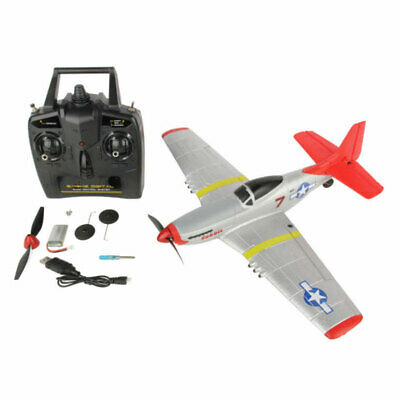 Sonik P-51 Mustang 400 Ready To Fly 4-Channel With Flight Stabilisation RC Plane • 78.95£