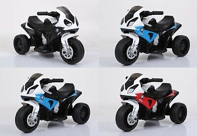 Official Licensed Bmw S1000rr Kids Electric Ride On Motorbike Trike Scooter • 57.99£