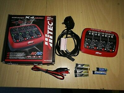 HITEC Lipo 1S Charger + Leads & 6 1S Batterys  • 28£