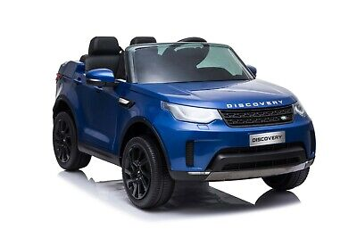 Licensed Land Rover Discovery 5 Children's 12V Ride On Car SUV Jeep With Music • 199£