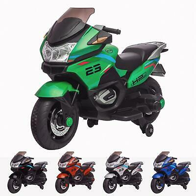 RiiRoo BMW Style Kids 12V Motorbike Battery Powered With Leather Seat Eva Wheels • 129£