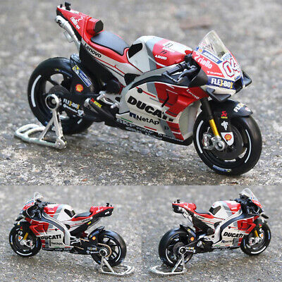 1:18 MOTOGP 2018 Ducati Desmosedici GP18 #04 Andrea Dovizioso Bike Model Toys UK • 13.89£