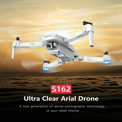 S162 5G Wifi FPV GPS RC Drone W/ 4K Camera Foldable RC Quadcopter+3 Battery+Bag • 87.89£