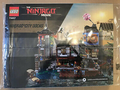 New Lego Ninja City Docks Instructions Only NO Lego Pieces • 4.99£