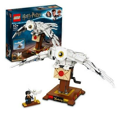 LEGO Harry Potter Hedwig Display Model Moving Wings 75979 Age 9+ 630pcs • 34.95£
