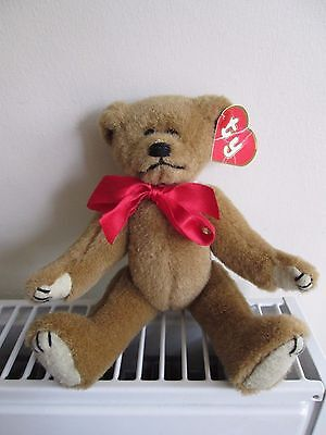 GILBERT GOLD 1st GEN TY ATTIC TREASURE BEAR, RARE!, Collectable Bear, • 39.99£