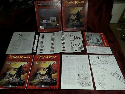 Lord Of The Rings Middle-Earth Role Playing Adventure Game By ICE 1991 LOTR  • 30.99£
