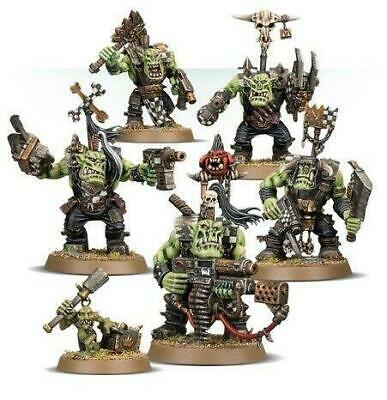 Warhammer 40K | 5x Ork Nobz | From The Prophecy Of The Wolf Box | New On Sprue! • 11.99£