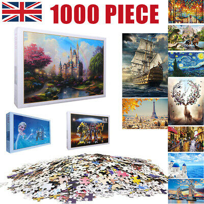 1000 Pieces Children Adult Kids Puzzles Educational Toy Decoration Jigsaw Puzzle • 8.89£