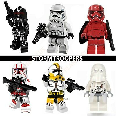 Star Wars CUSTOM Stormtrooper Lego Mini Figures Building Fit Army Clone Troopers • 2.99£