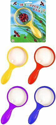 Magnifying Glass Assorted Colours 15cm Childrens Kids Toy Bug Viewer Science Toy • 2.95£