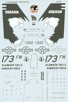 Microscale Decals 1/32 McDonnell F-15C Eagle # SS32237 • 7.77£