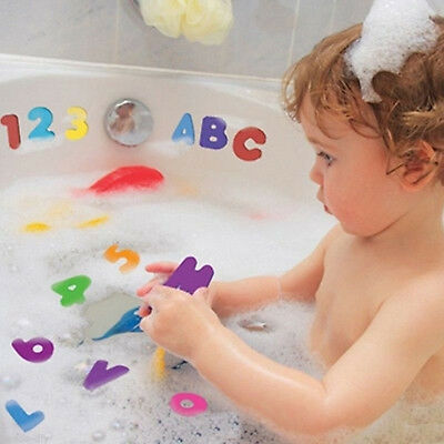 36pcs Baby Kids Bath Toys Foam Number Letters Bath Toddler Early Educational Toy • 4.49£