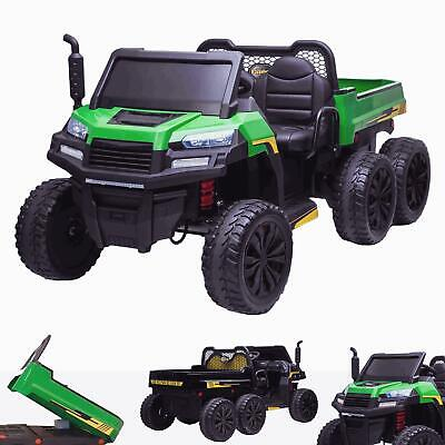 RiiRoo Gatlo Electric 6 X 6 Kids 24V Parrallel Ride On Battery Gator Truck • 399£