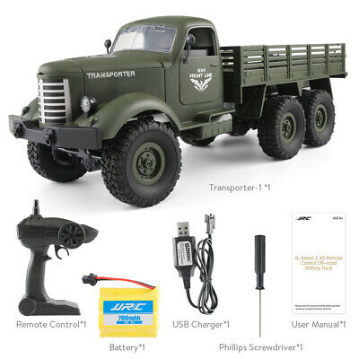 JJRC Q60 6WD 1:16 2.4G RC Off-Road Machine Drive Tracked Military RC Truck • 32.35£