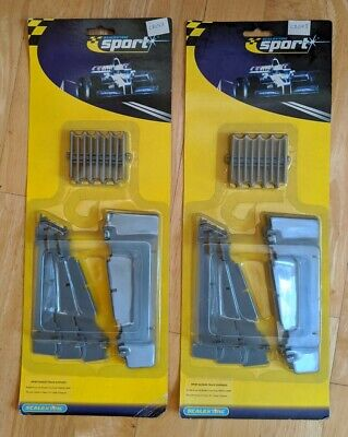 Scalextric C8298 Banked Curve Track Supports BNIB New (x2) • 10£
